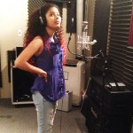 Aimee Miranda at IntiGalaxy Studio